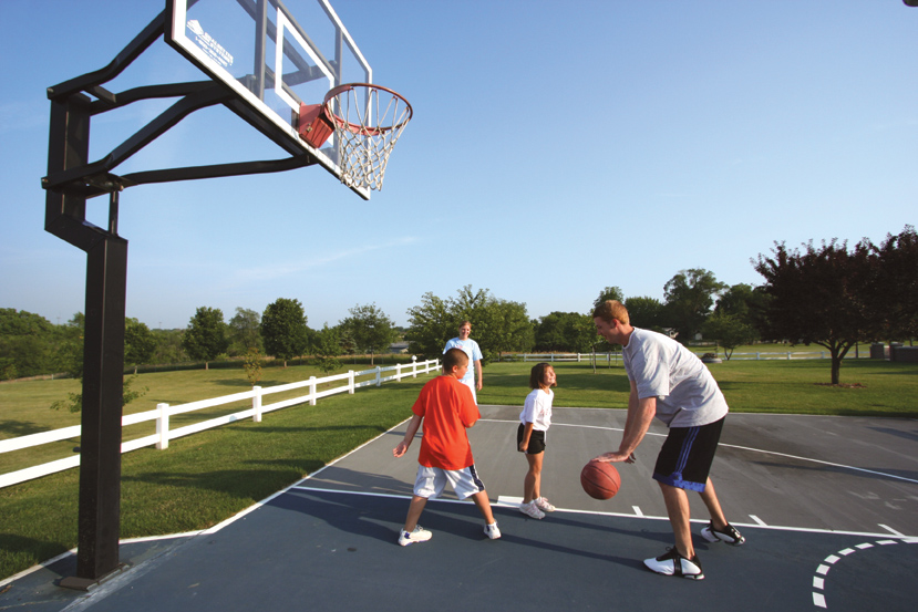 kids outdoor basketball hoops