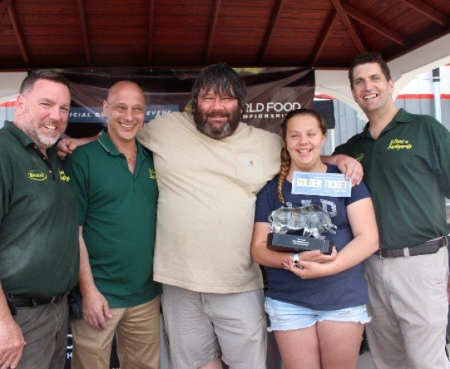 Best in Backyards Congratulates Winner of First Bull Burger Battle of 2014