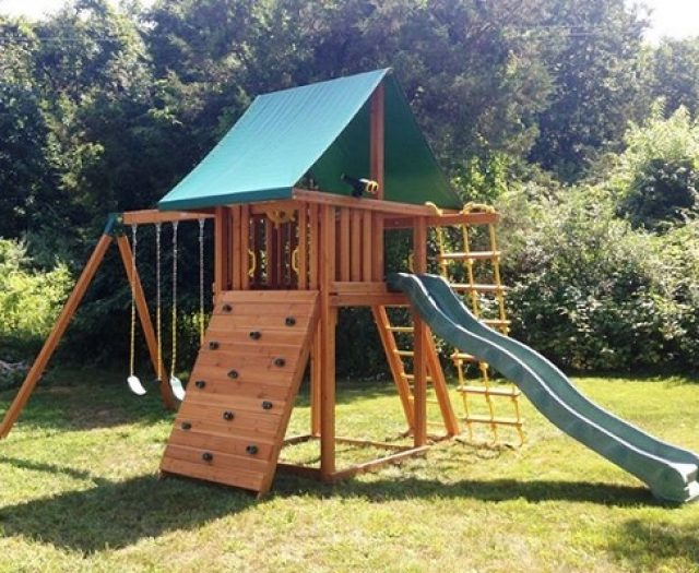 Westchester Family Wins Swing Set from Best in Backyards