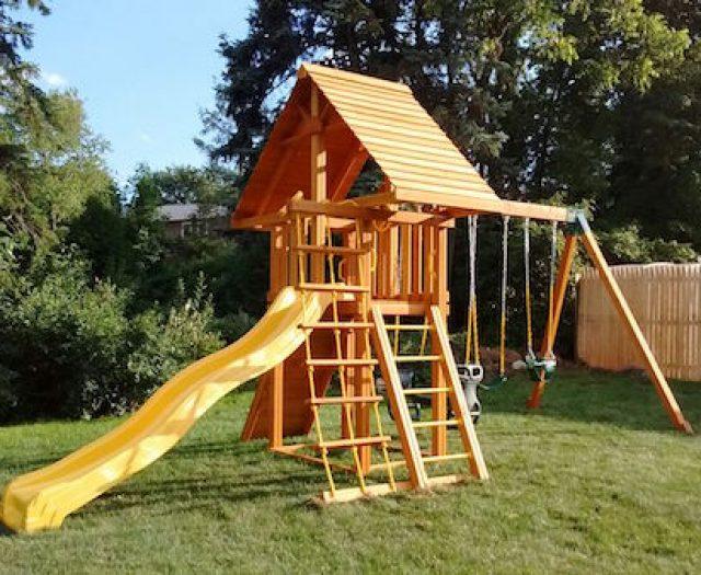 Photos: Summer Swing Set Installations