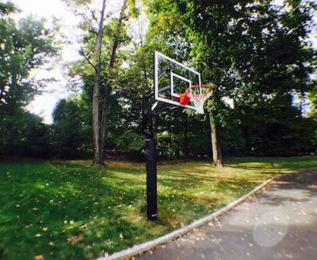 Thanksgiving Exercise Opportunity: Home Basketball System