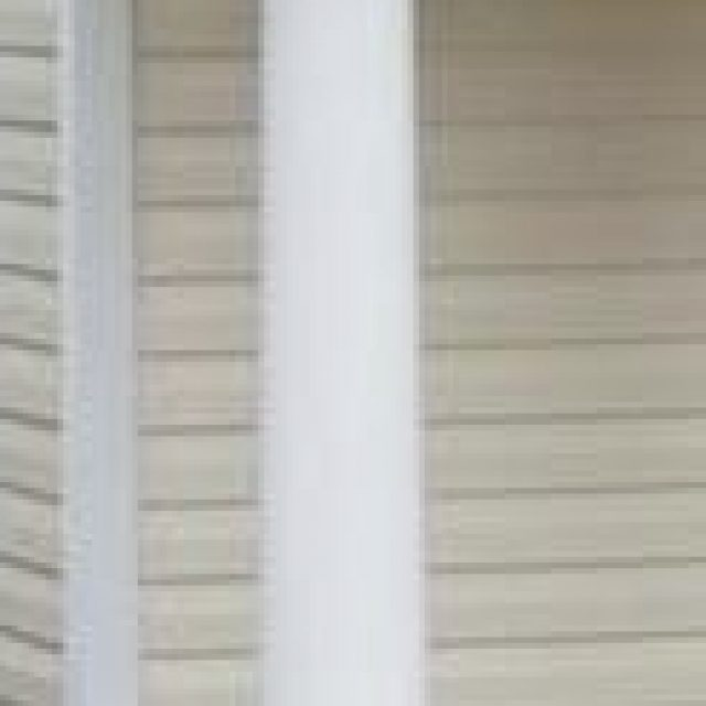 10'' Round Tapered Vinyl Column