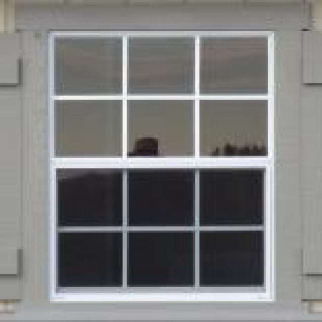30x36 Standard Window with Batten Shutters