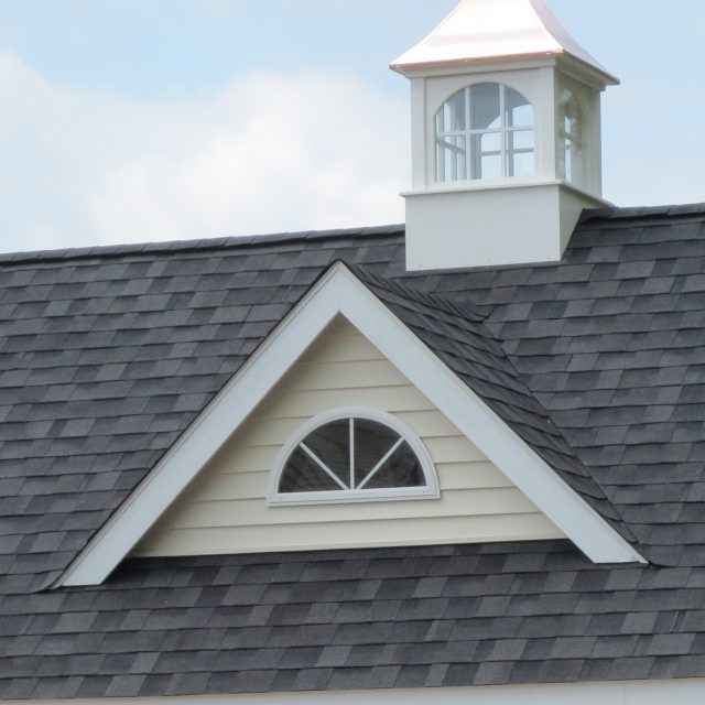 7' Windsor Dormer with Half Round Window
