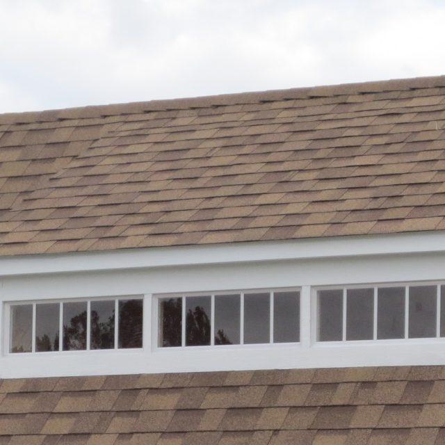 transom mini dormers on new pool house