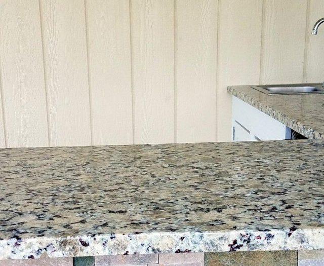 granite countertop installation for pool bar