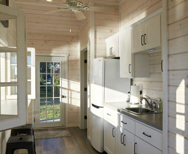 indoor kitchen installation