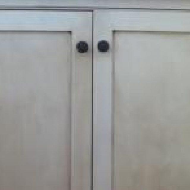 shaker cabinet doors for pool house bar