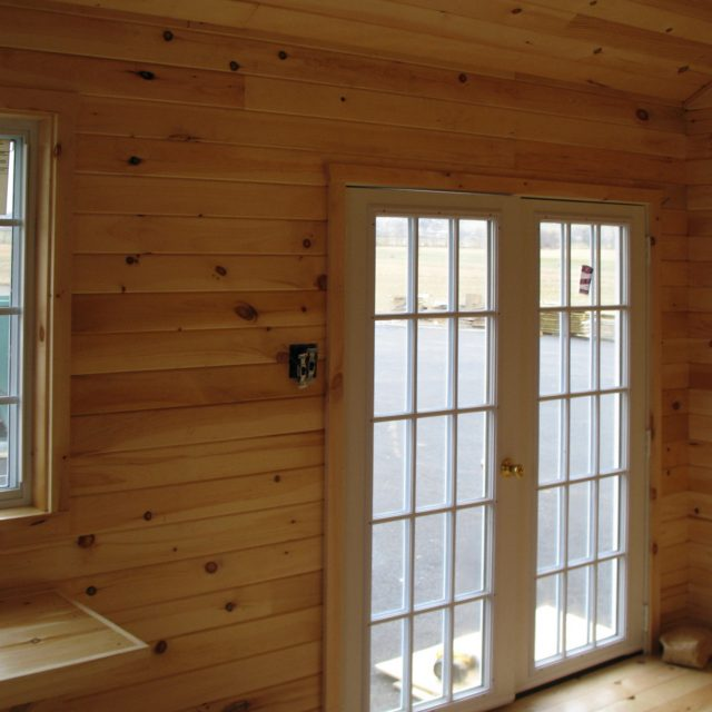 Pine Tongue and Groove Interior