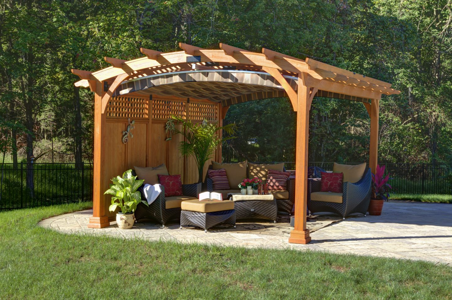 Arched Wood Pergolas Vinyl Pergolas Ny Amp Ct Best In