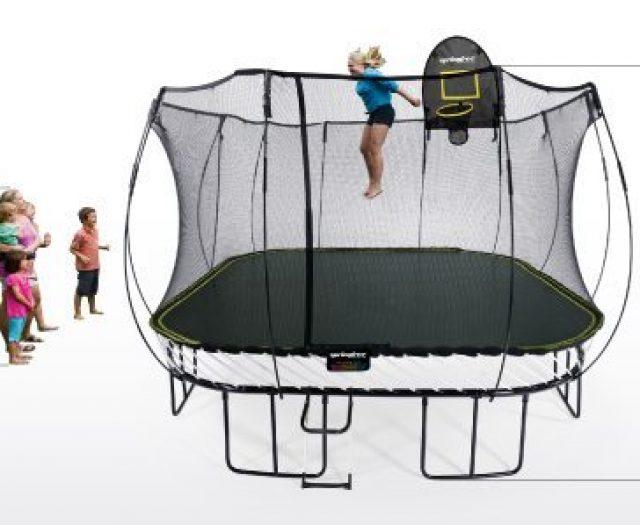 Springfree 13′ Square Trampoline