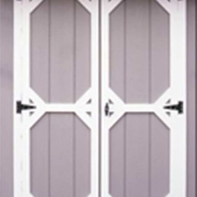 STANDARD DOUBLE DOOR WITH DUTCH TRIM