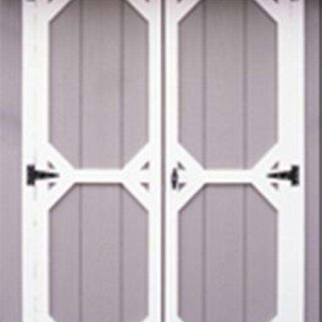 STANDARD DOUBLE DOOR WITH DUTCH TRIM