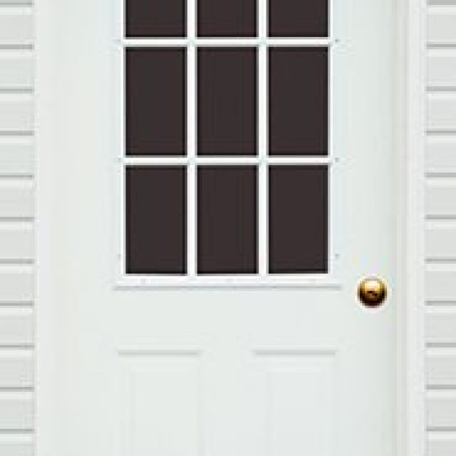 9-LITE GLASS PREHUNG DOOR
