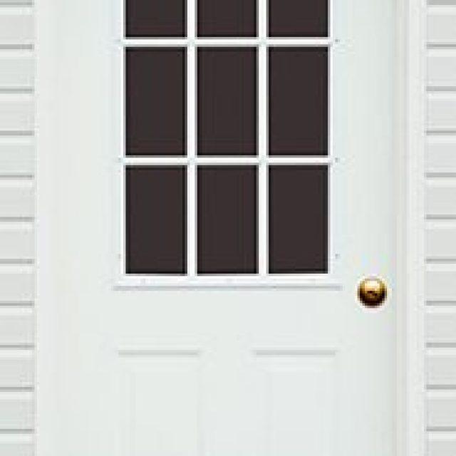 9-LITE GLASS PREHUNG DOOR
