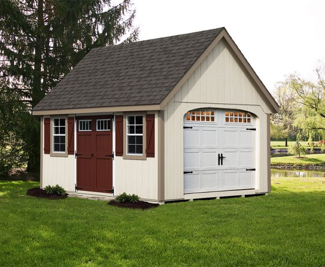 Garden Series A-Frame Storage Shed