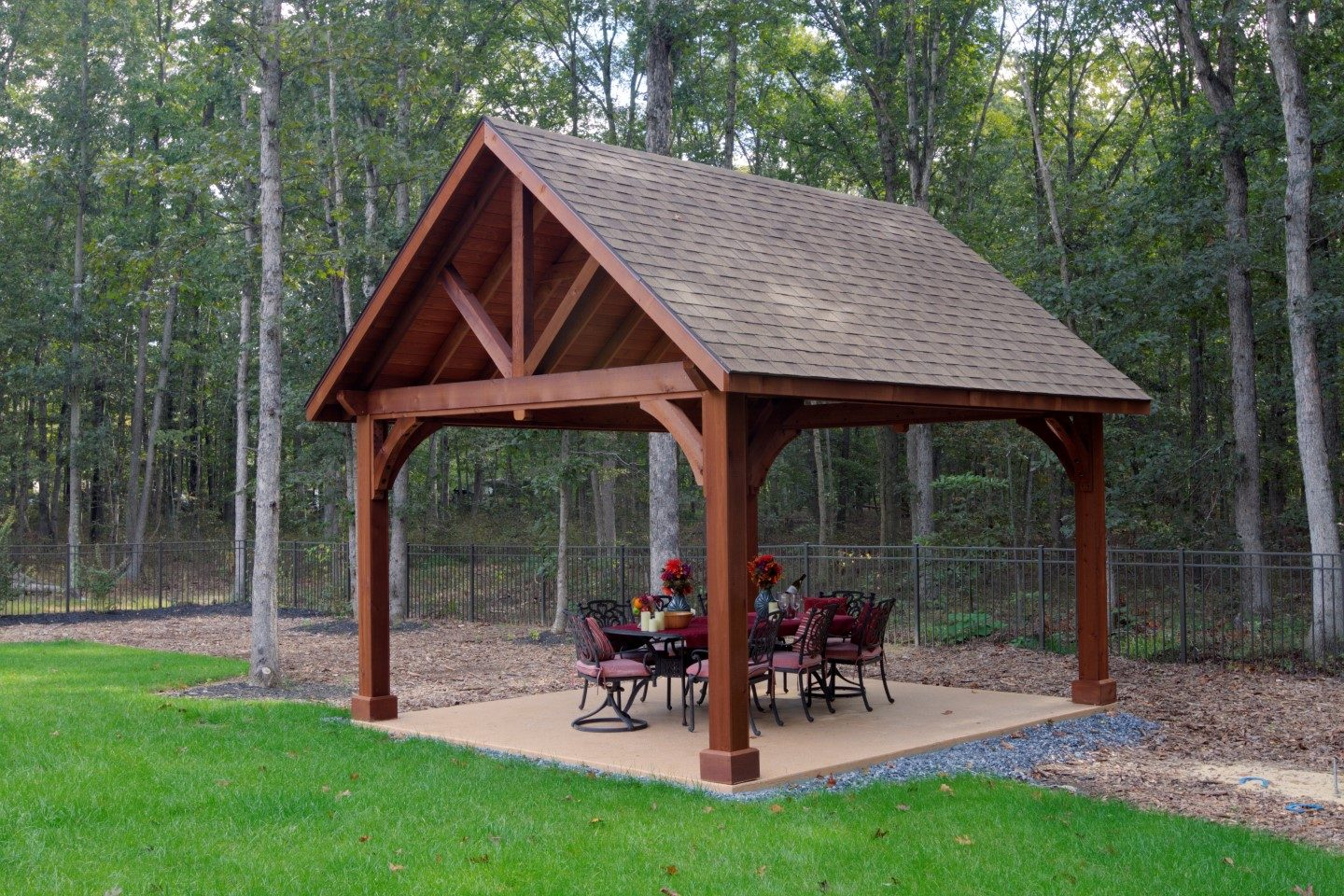 Alpine Wood Pavilions Outdoor Structures Ny Amp Ct