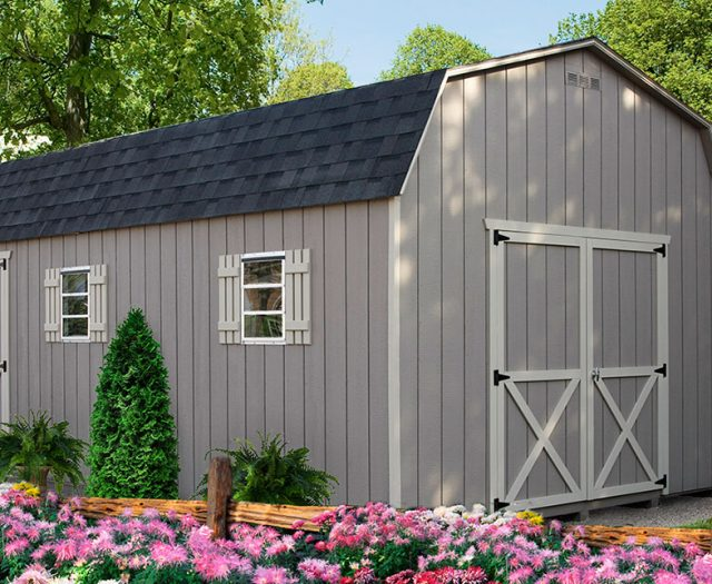 Backyard Series Dutch Barn Storage Sheds