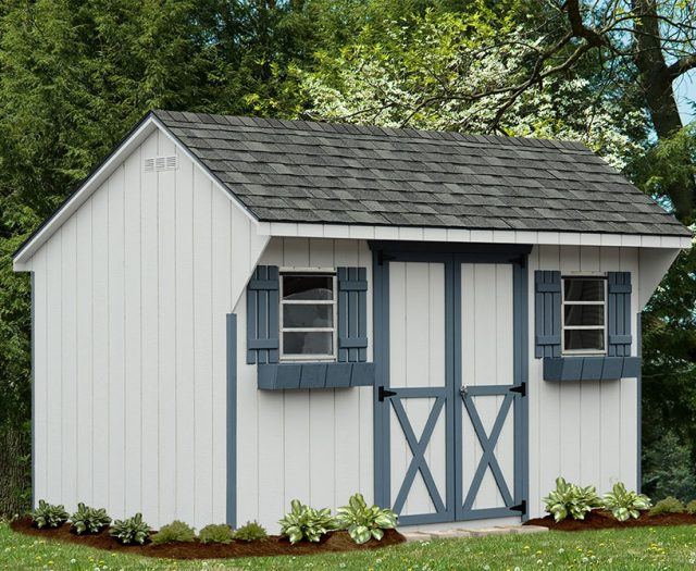 Backyard Series Quaker Storage Shed