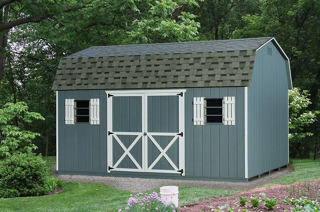 Dutch Barn Storage Sheds | Backyard & Elite Series | NY & CT