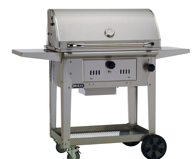 Bison Charcoal Cart
