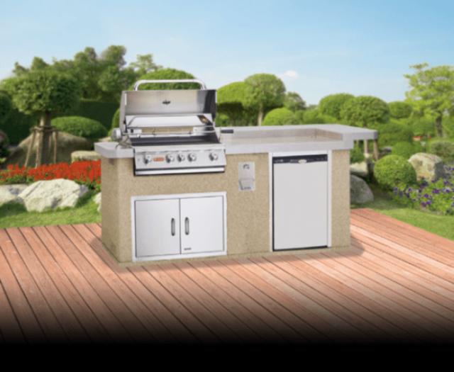 Aspen Outdoor Kitchen Island