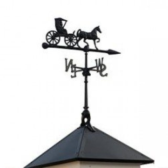 CARRIAGE WEATHERVANE