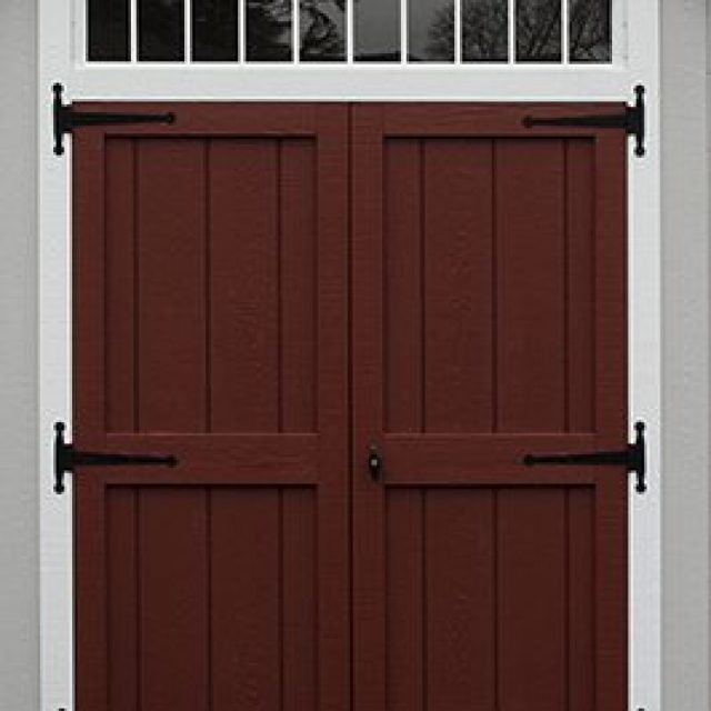 DELUXE DOUBLE DOOR WITH TRANSOM ABOVE DOORS