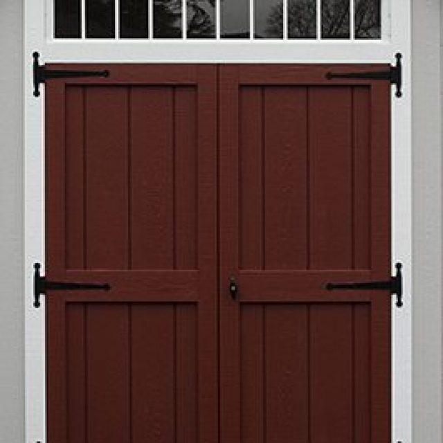 DELUXE DOUBLE DOOR WITH TRANSOM ABOVE DOORS