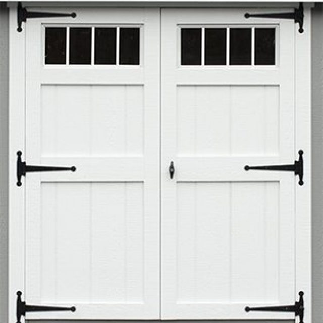 DELUXE DOUBLE DOOR WITH TRANSOMS