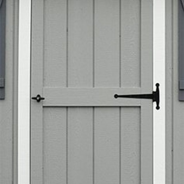 DELUXE SINGLE DOOR WITH ARCH TRIM