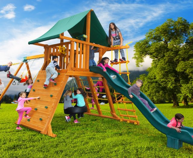 Extreme Outdoor Tire Swing Playset A