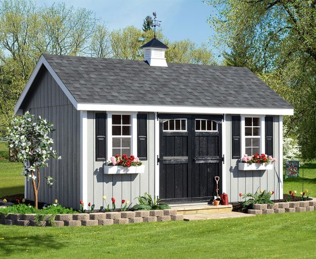 Elite Series A-Frame Storage Sheds