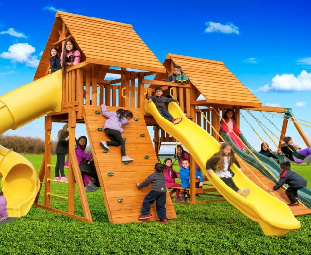Fantasy Kids Backyard Playset C