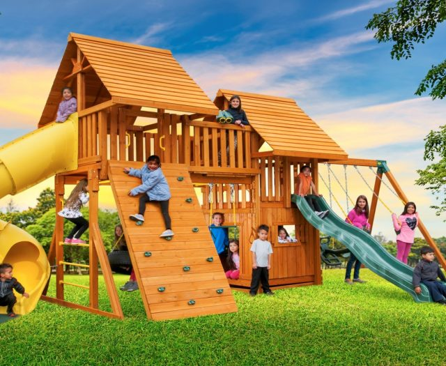 Fantasy Kids Outdoor Playset D