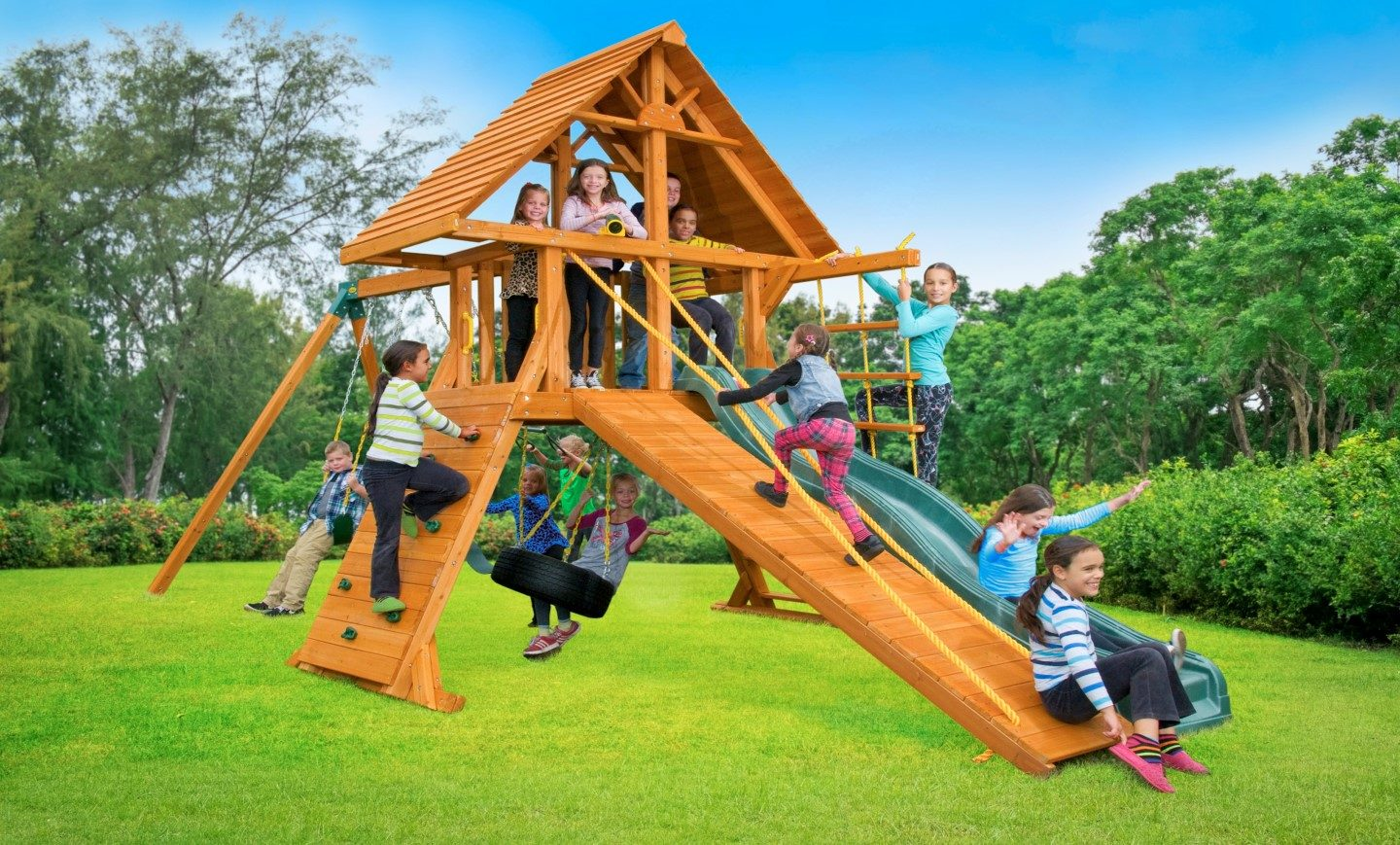 30 Insanely Chic Kids Outdoor Playset - Home, Family ...