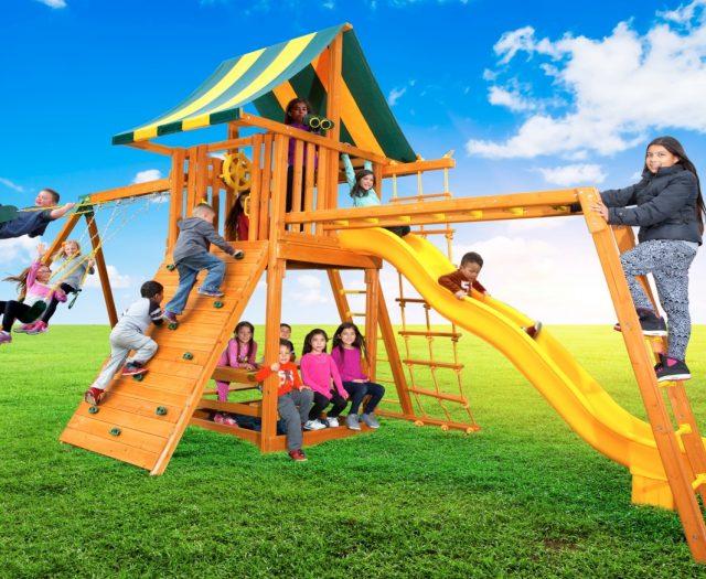 Ultimate #2 Cedar Swing Set