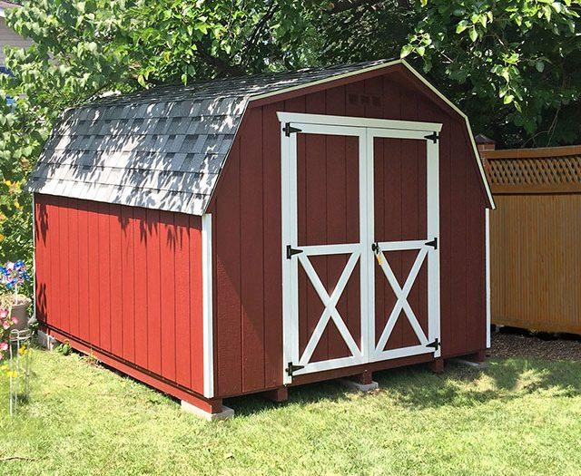 Backyard Series Dutch Barn Storage Sheds
