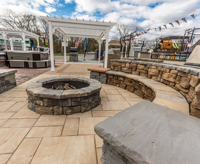 Beautiful Custom Fire Pits and Benches Mahopac NY