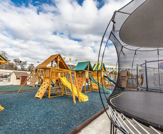 Eastern Jungle Gym Swing Sets Mulch and Trampolines Somers NY