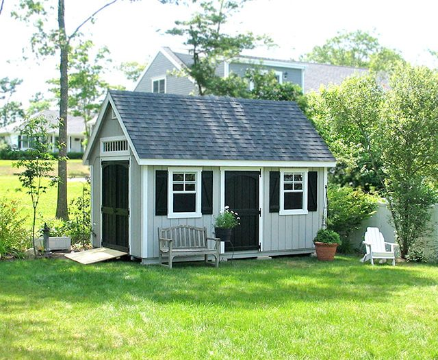 Outdoor Storage Sheds | Custom Backyard Vinyl Shed | NY & CT