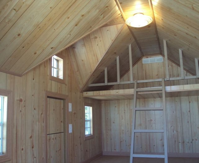 Playhouse with Ceiling Light and Electrical Package
