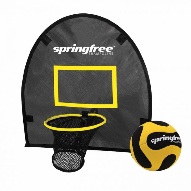 Springfree Trampoline FlexRHoop Basketball Hoop and Ball