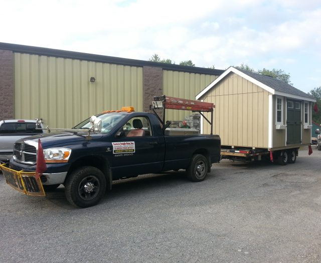 Shed & Truck