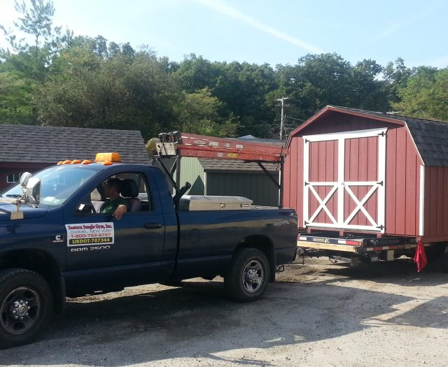 Shed on Truck