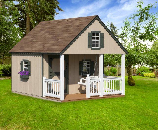 custom kids wooden playhouse
