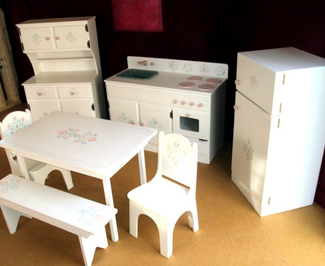 white playhouse children's furniture