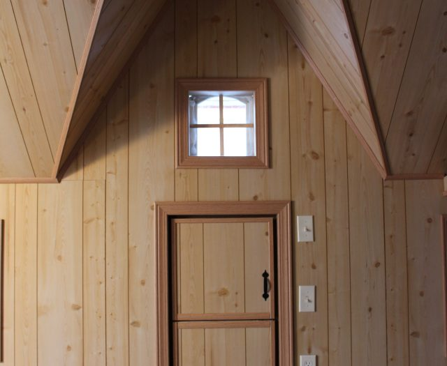 Fully Finished Playhouse Interior