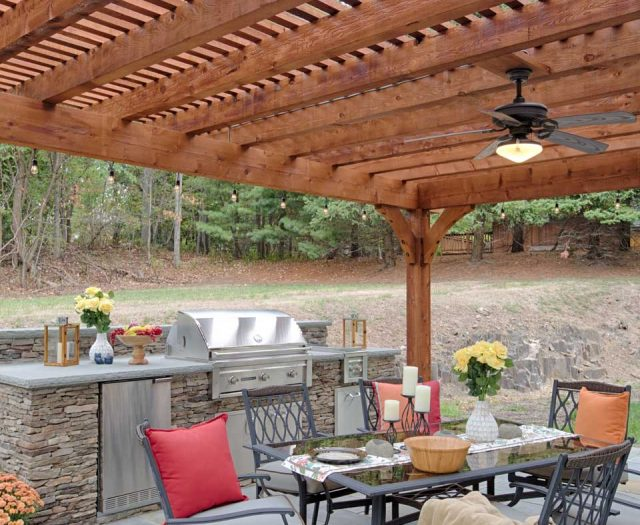 18'x22'-Kingston-Pergola,-Canyon-Brown-Stain-2