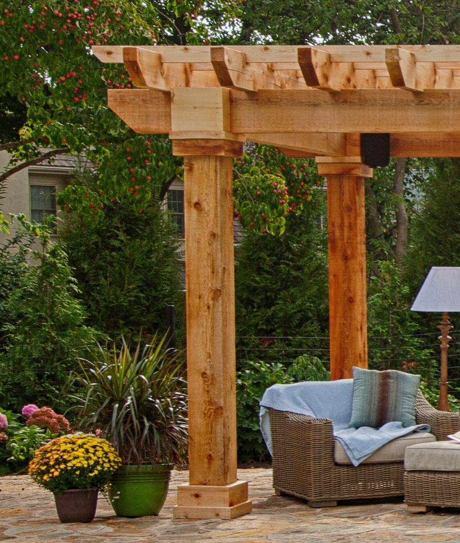Artisan Wood Pergolas | Vinyl Pergolas | NY & CT | Best in Backyards